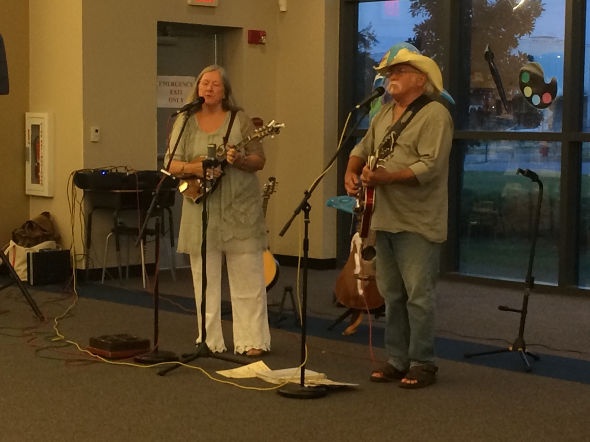Lucky Mud Performed at the Library