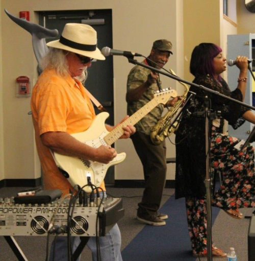 Konkrete Soul Performed at the Library