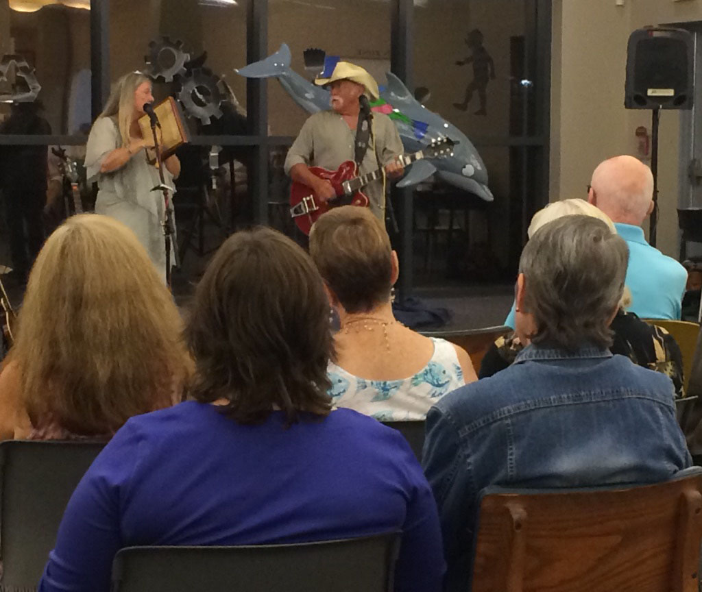 Lucky Mud performs at Bay County Library