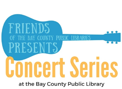 Image of the Friends of the Bay County Public Libraries Concert Series Flyer.