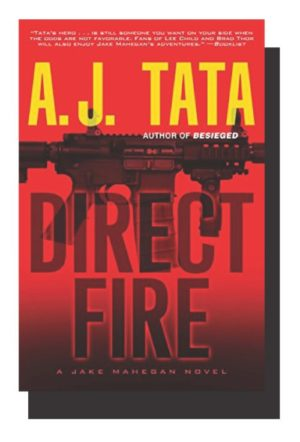 Author AJ Tata Spoke at the Library