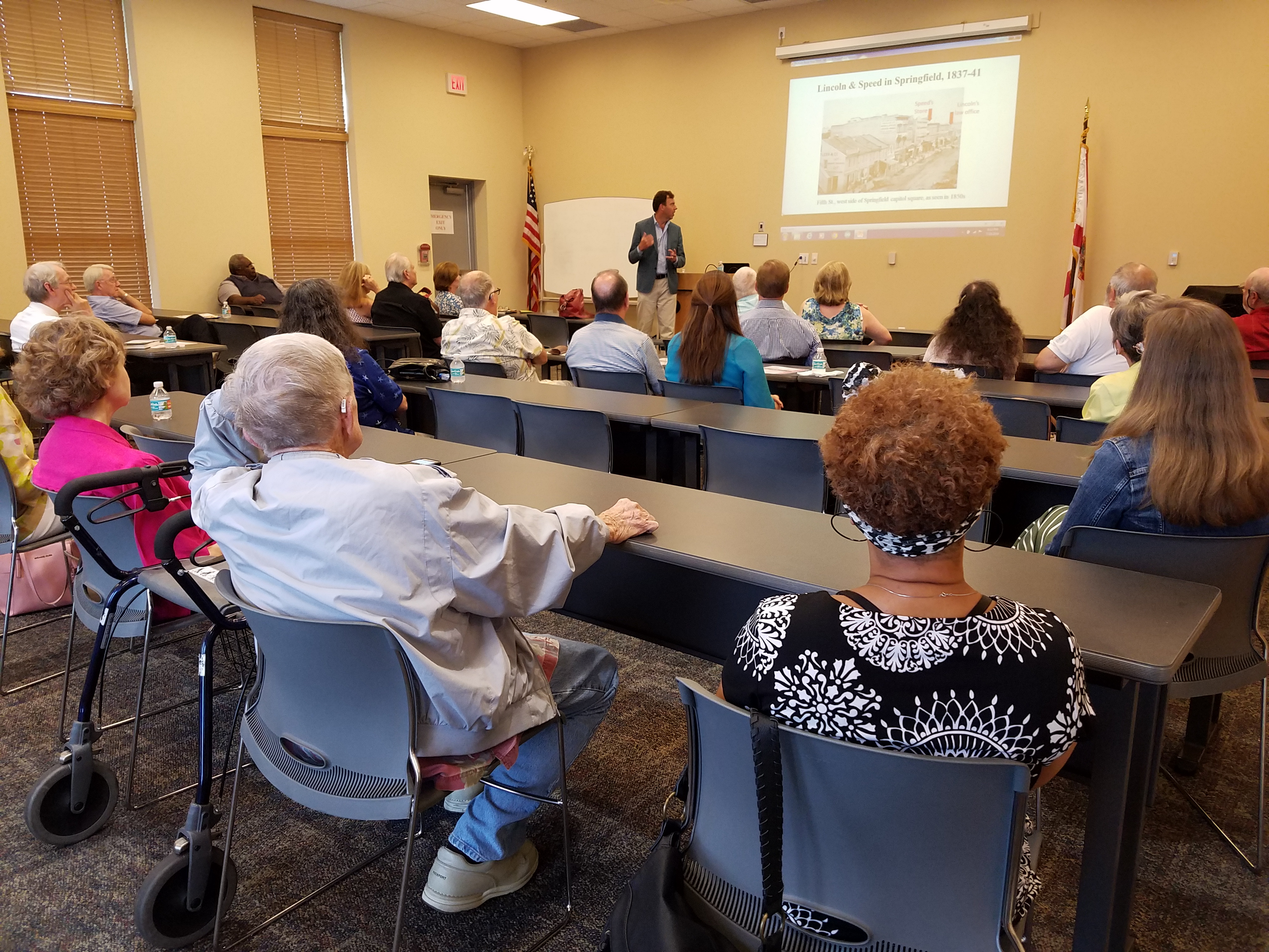 Author Jonathan F. Putnam Spoke at the Library