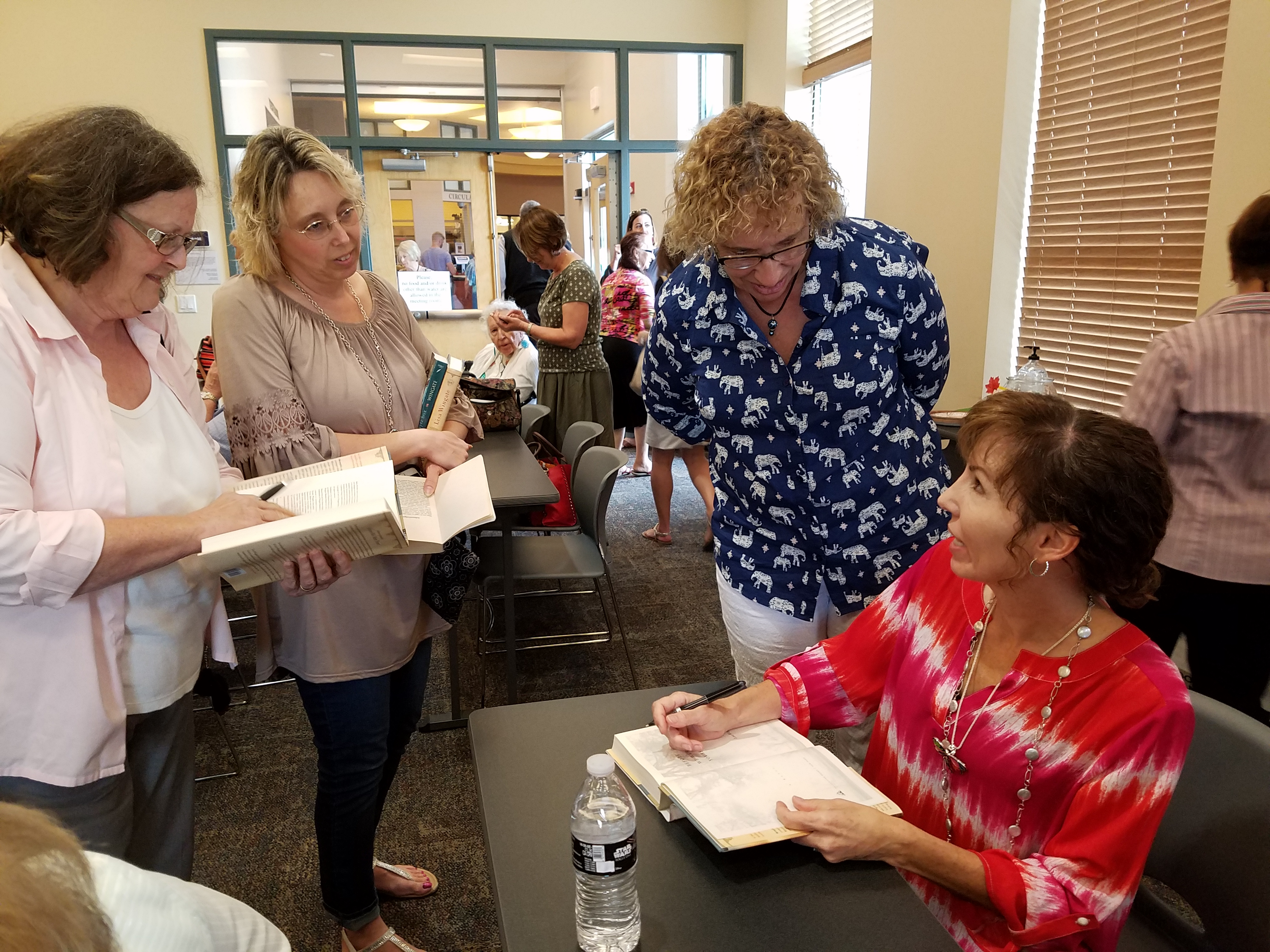 Bestselling Author Lisa Wingate Spoke at the Library